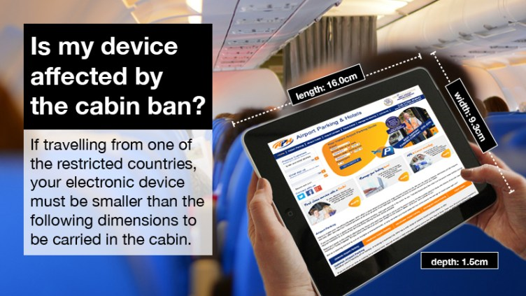 Find out all you need to know about the new laptop ban