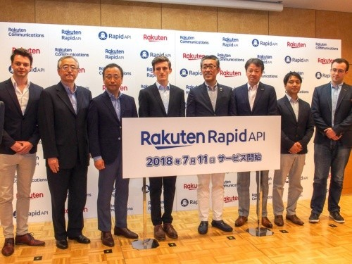 Rakuten RapidAPI Launch