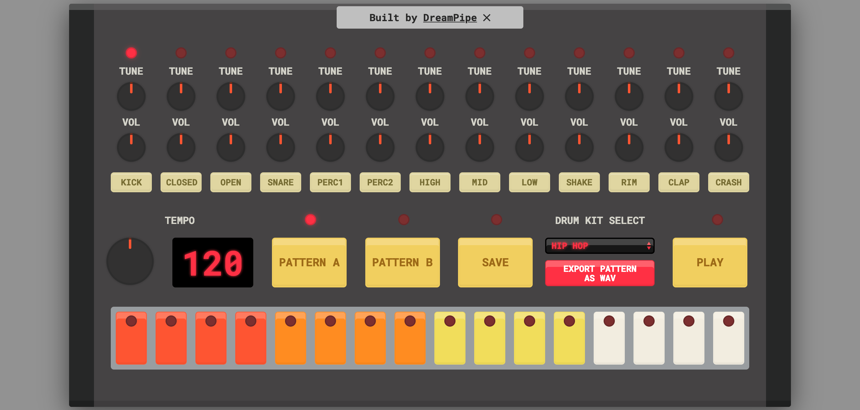 Free Virtual Drum Machine