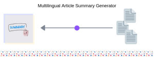 Multilingual Article Summary Generator