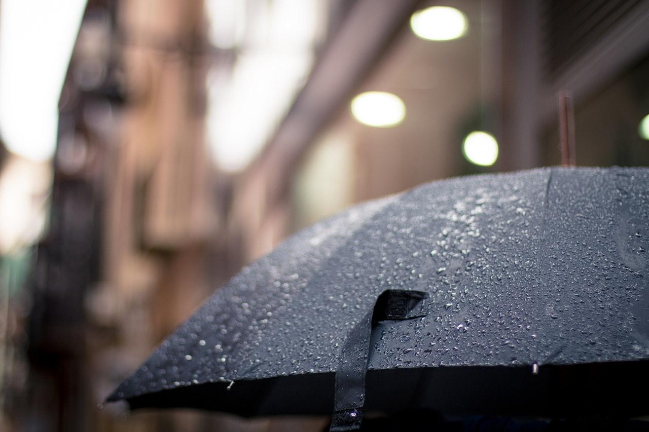 Florianópolis com chuva
