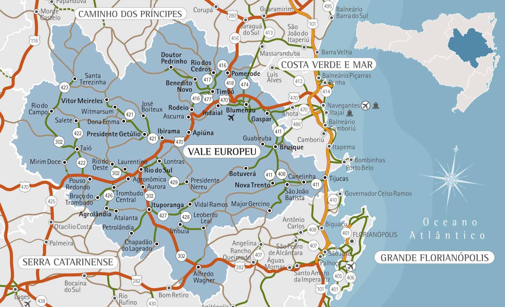 Circuito Vale Europeu : Passeio vale europeu cicloturismo u da apino turismo