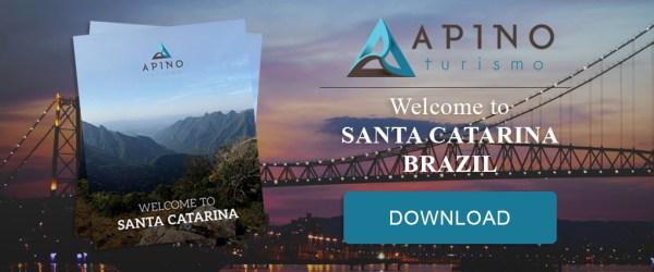 welcome to santa catarina / brazil