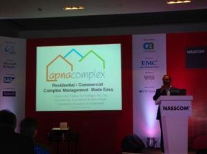 ApnaComplex at NASSCOM Product Conclave 2010