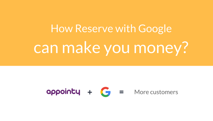 "Five foolproof ways in which Reserve with Google can ""make you money"""