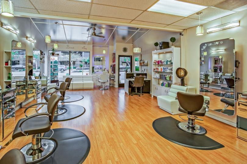 Classic salon decor