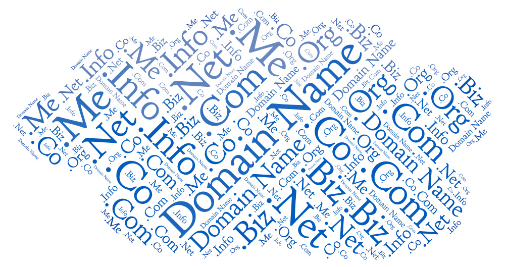 Selecting the best domain name