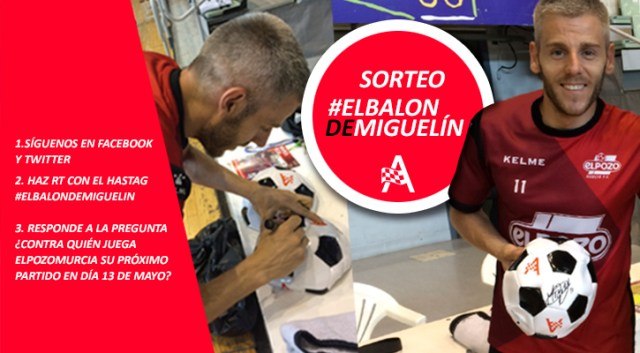 newsletter balon miguelin con texto