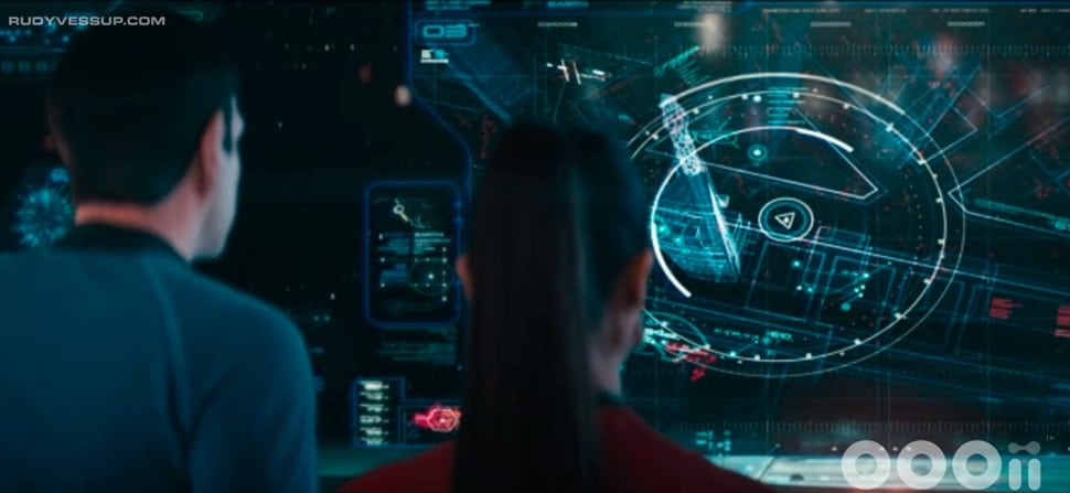 Interface Star Trek: Into the Darkness