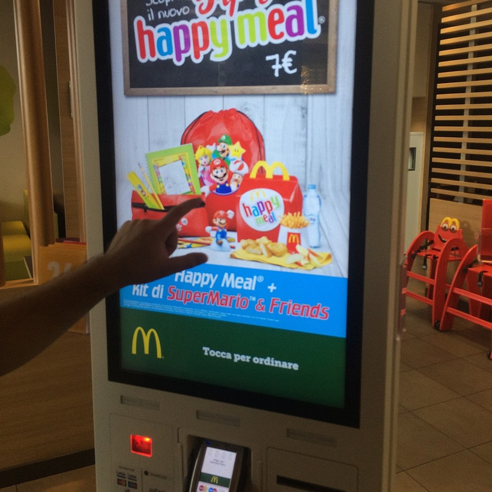 Touchscreen McDonald's