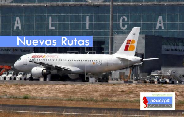 El aeropuerto Alicante-Elche incorpora 7 rutas nuevas este invierno hasta lograr las ochenta y uno