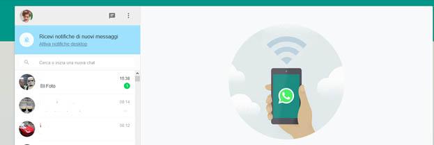 Come utilizzare Whatsapp dal web