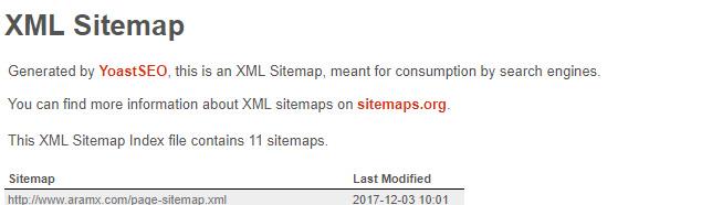 problema sitemap wordpress