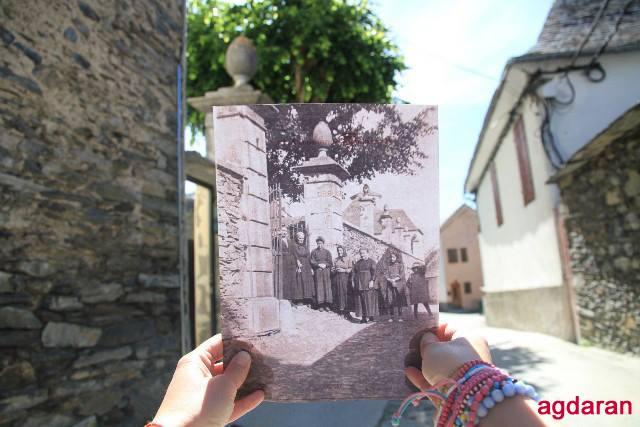 Familia e vesins dera Casa deth Senhor d'Arròs