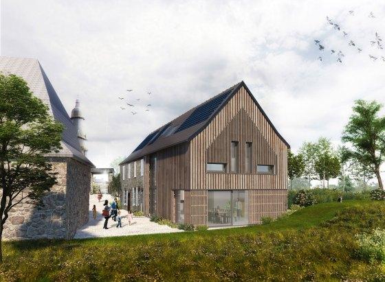 Projet des architectes Yann Huet et Stève Castel de l'agence DEAR