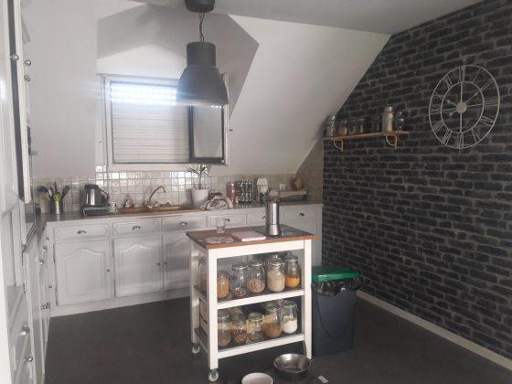 Intérieur duplex cuisine avant travaux