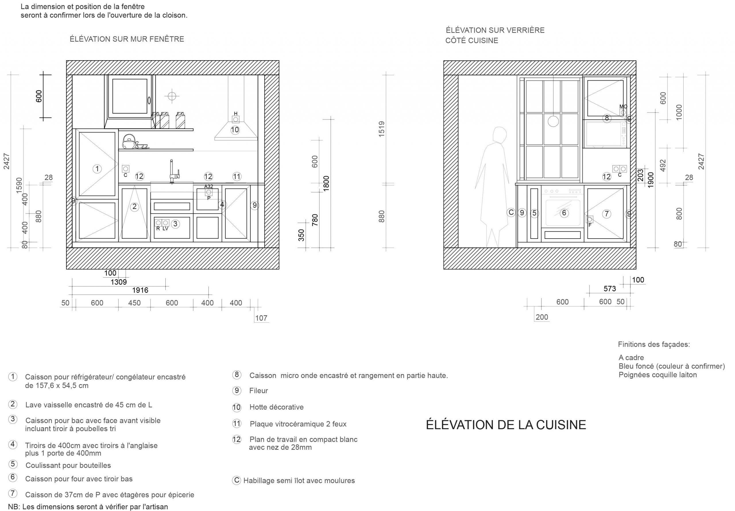 Idée de rénovation d'un architecte