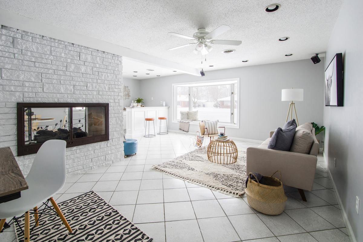 Photographie d'une maison avec une rénovation énergéique