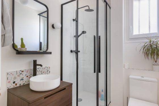 Salle-d'eau rénovée appartement