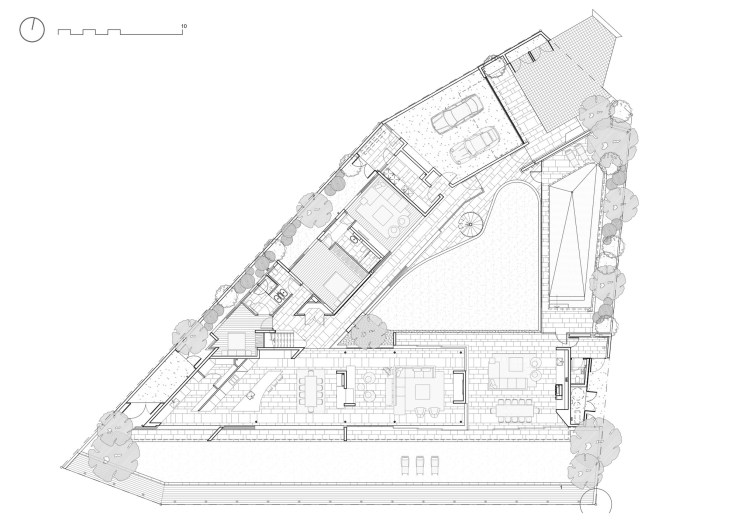 Plans d'étage ouverts