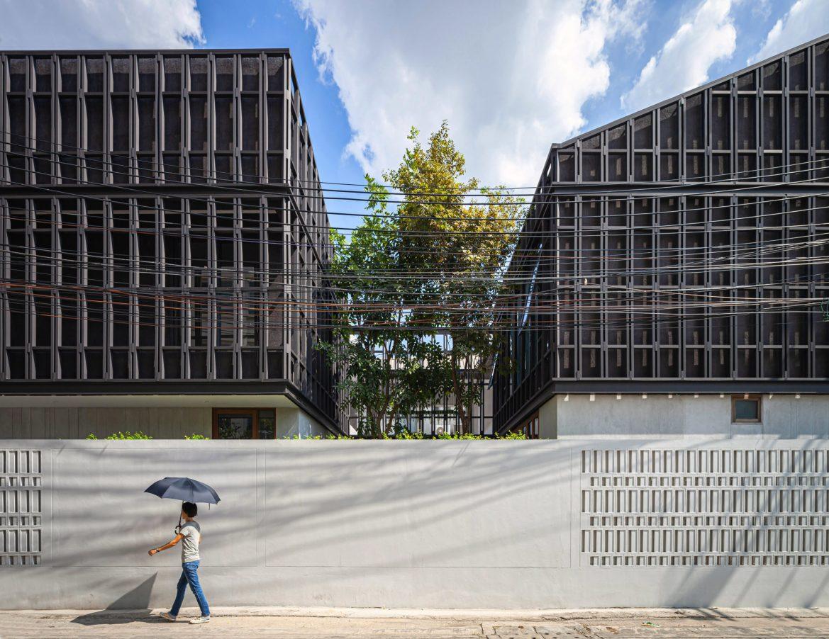 façades noires architecture noire