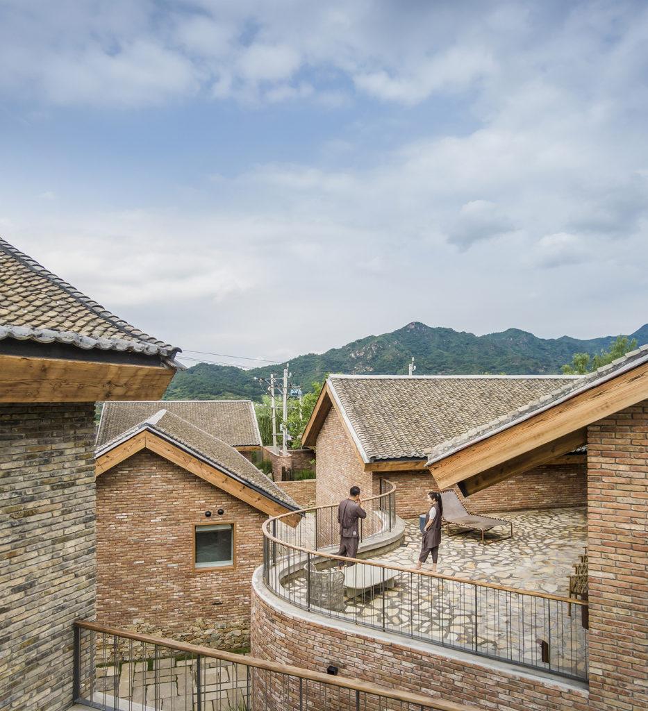 Matériau architectural du village de San Sa par LLLab., Beigou Village, Chine