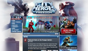 city of heroes site