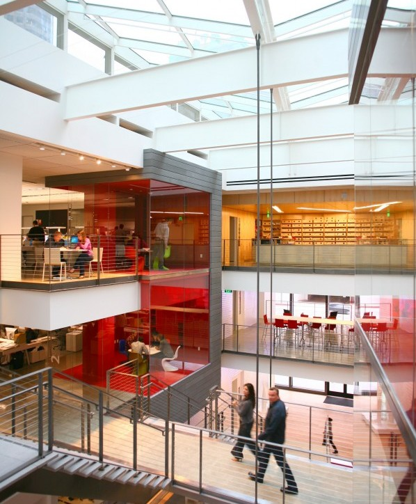 Genslers New Los Angeles Digs Filled With Energy