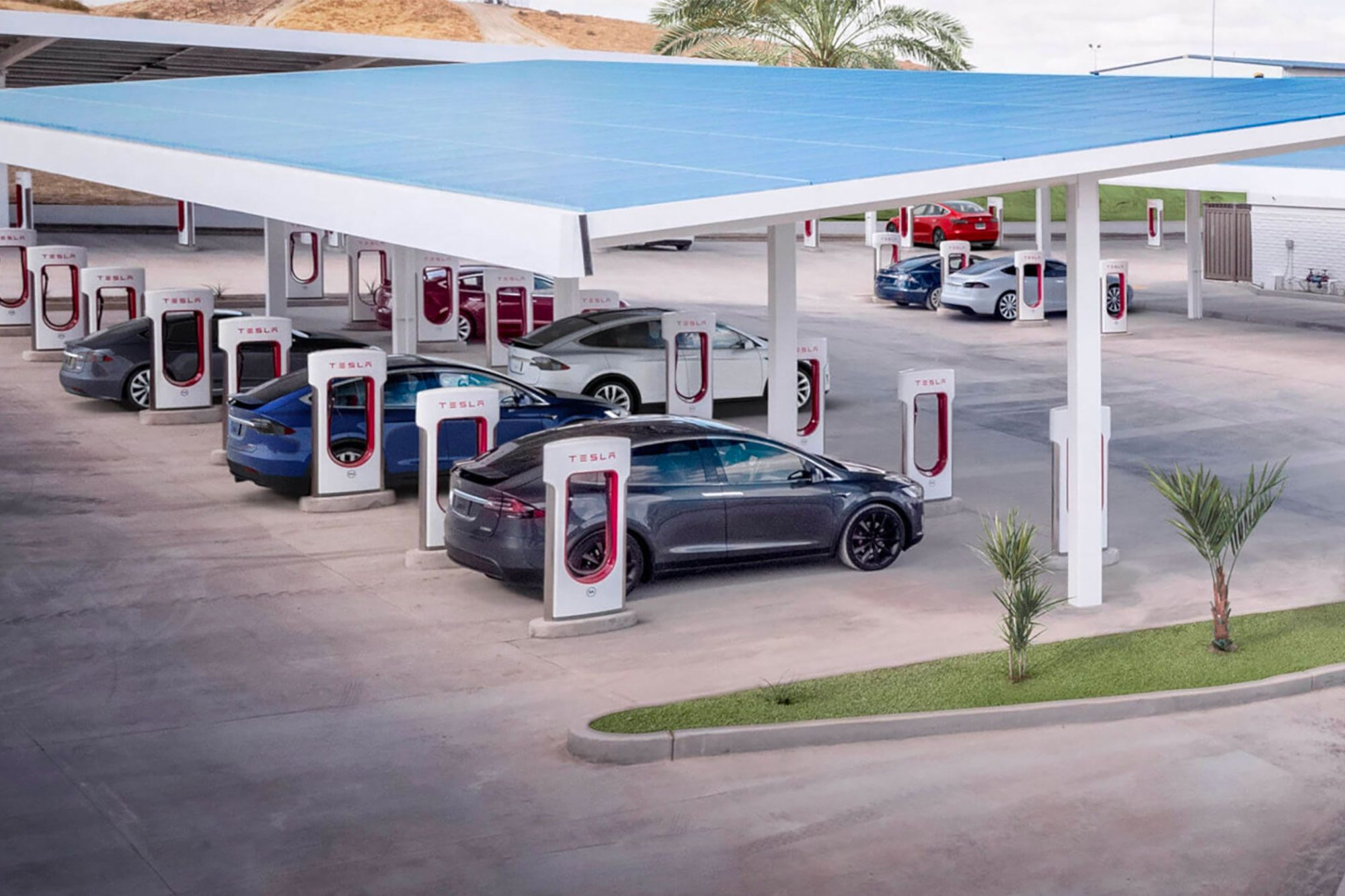 Tesla's Supercharger Network Will Cover All of Europe in 2019