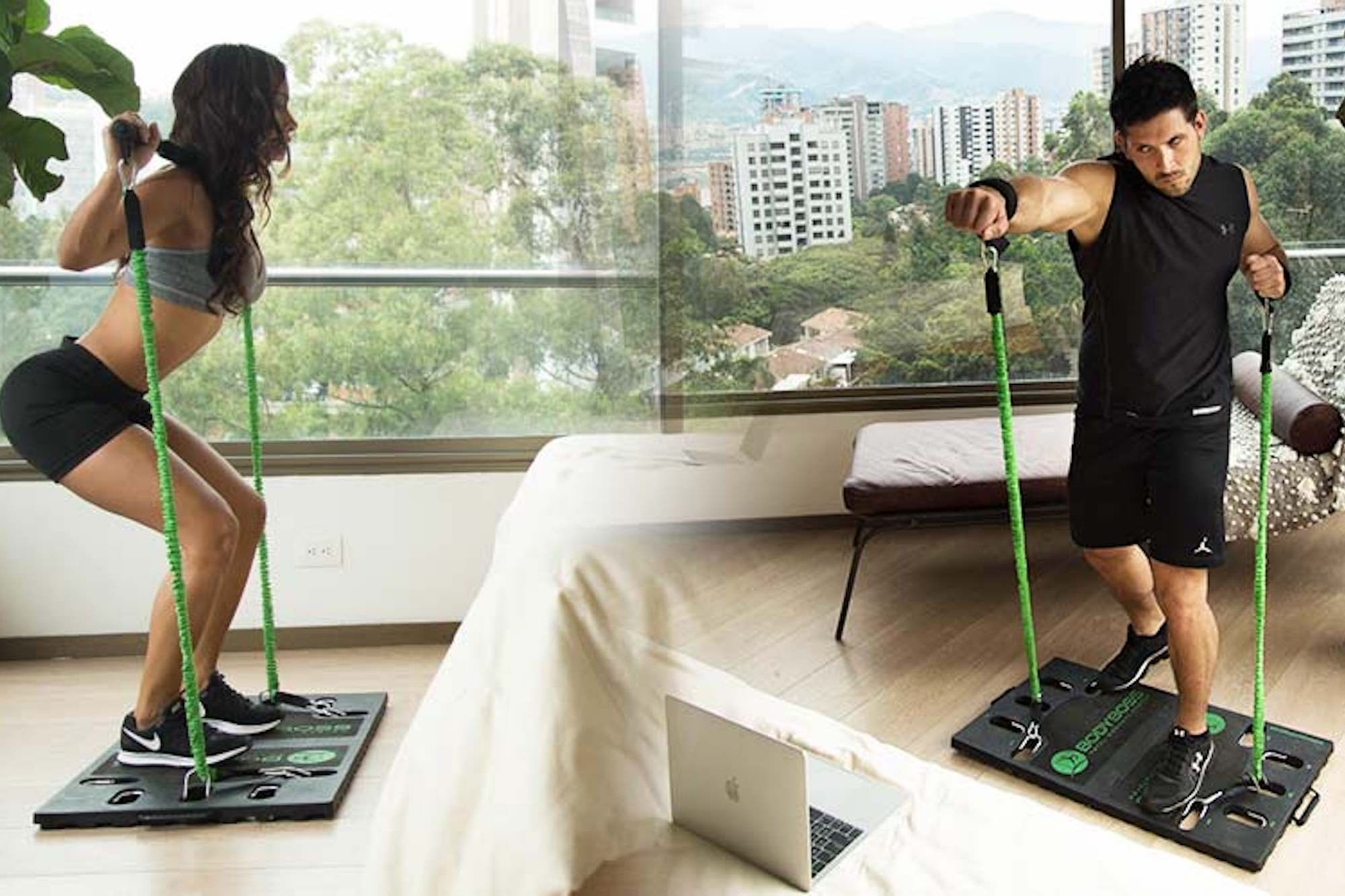 Too Busy to Exercise? Save the Excuses with This Portable Gym.