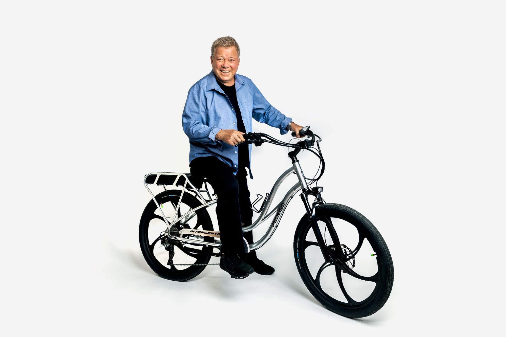 From Starship Captain to Electric Bike Pitchman: a Conversation With William Shatner
