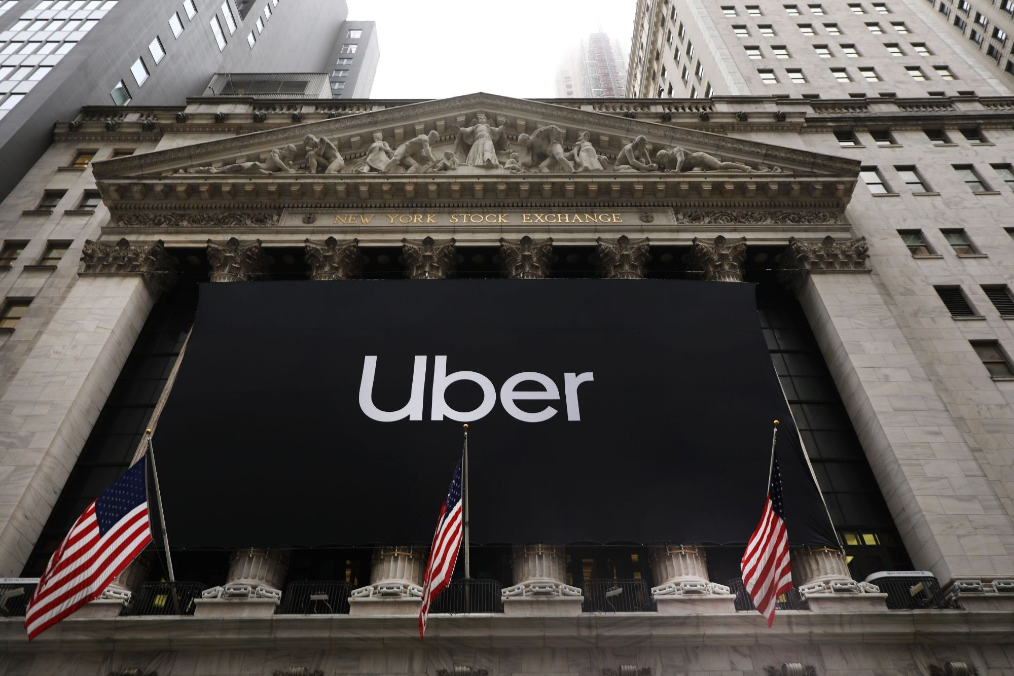 Uber Stock Tumbles After IPO, Leading to Disappointing First Day as Public Company