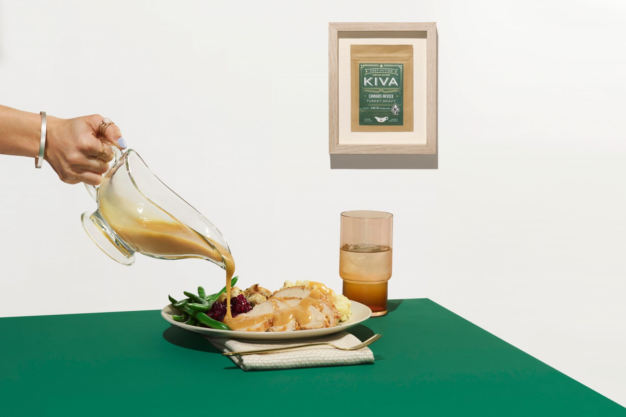 Kiva Confections' Fast-Acting, Cannabis-Infused Turkey Gravy Will Make Thanksgiving Even More Relaxing