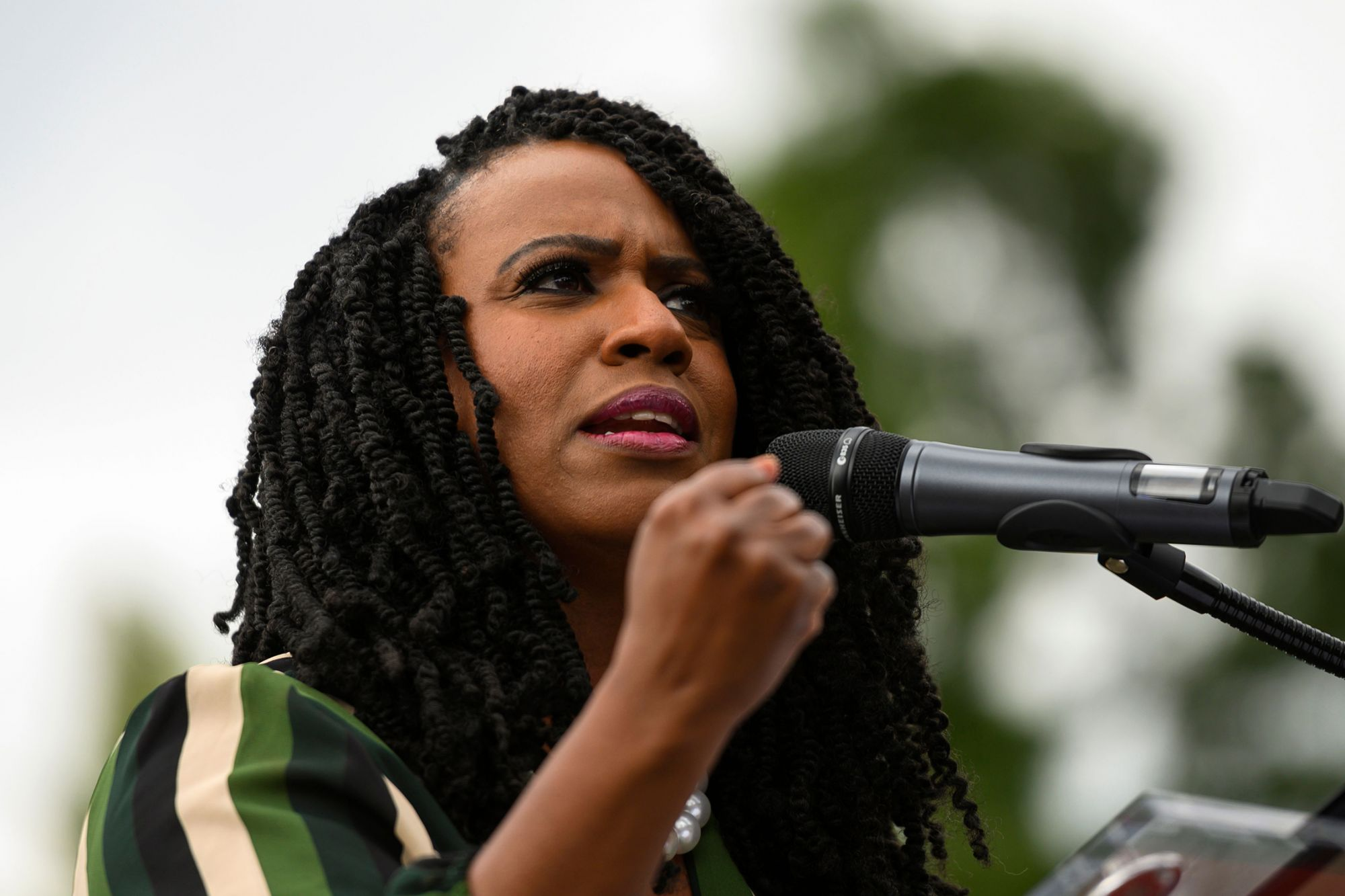 """Rep. Ayanna Pressley's """"People's Justice Guarantee"""" Is The Most Sweeping Weed Legislation Proposal Yet. But Will It Pass?"""