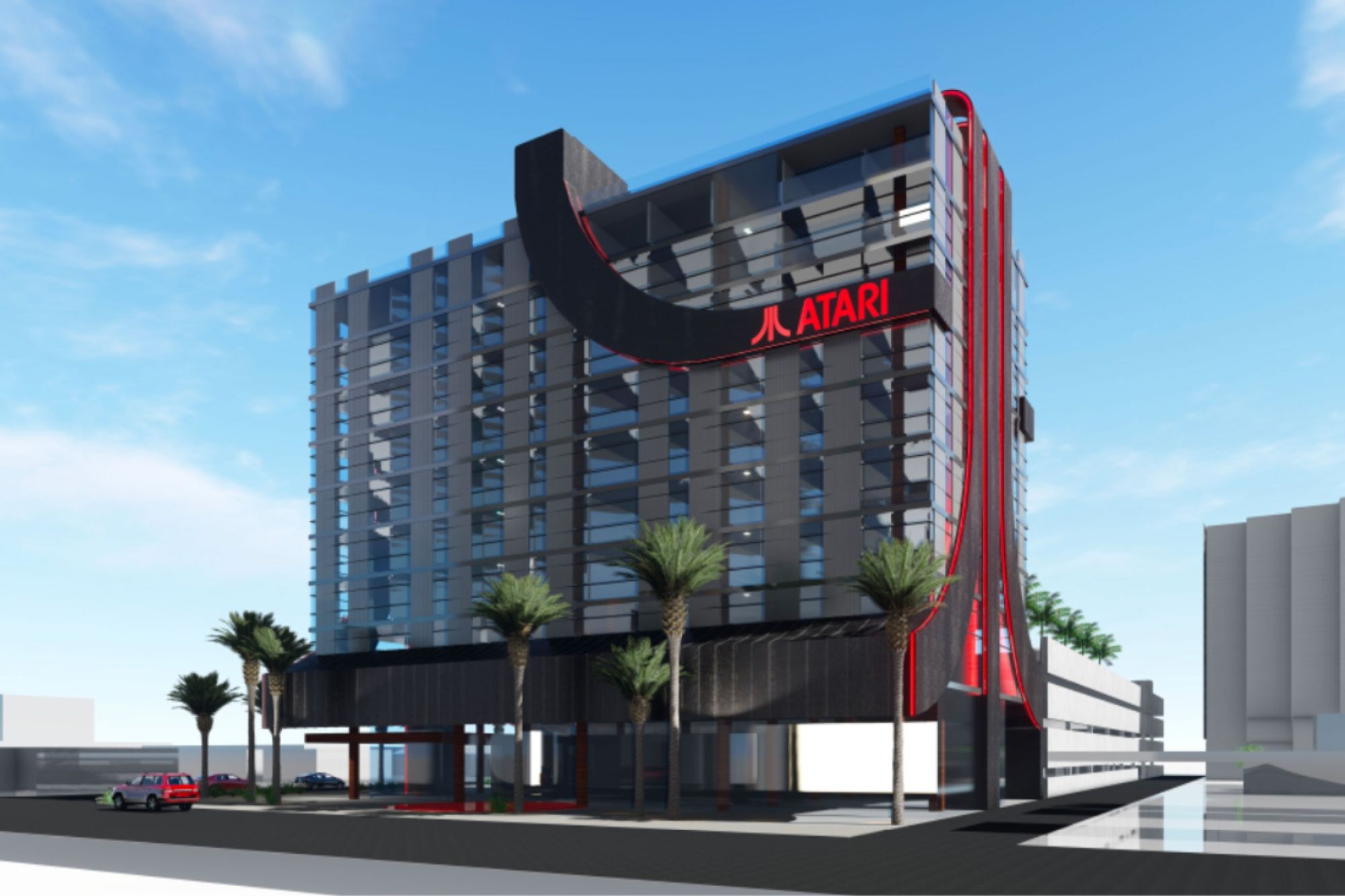 Atari Wants to Build Video Game-Themed Hotels