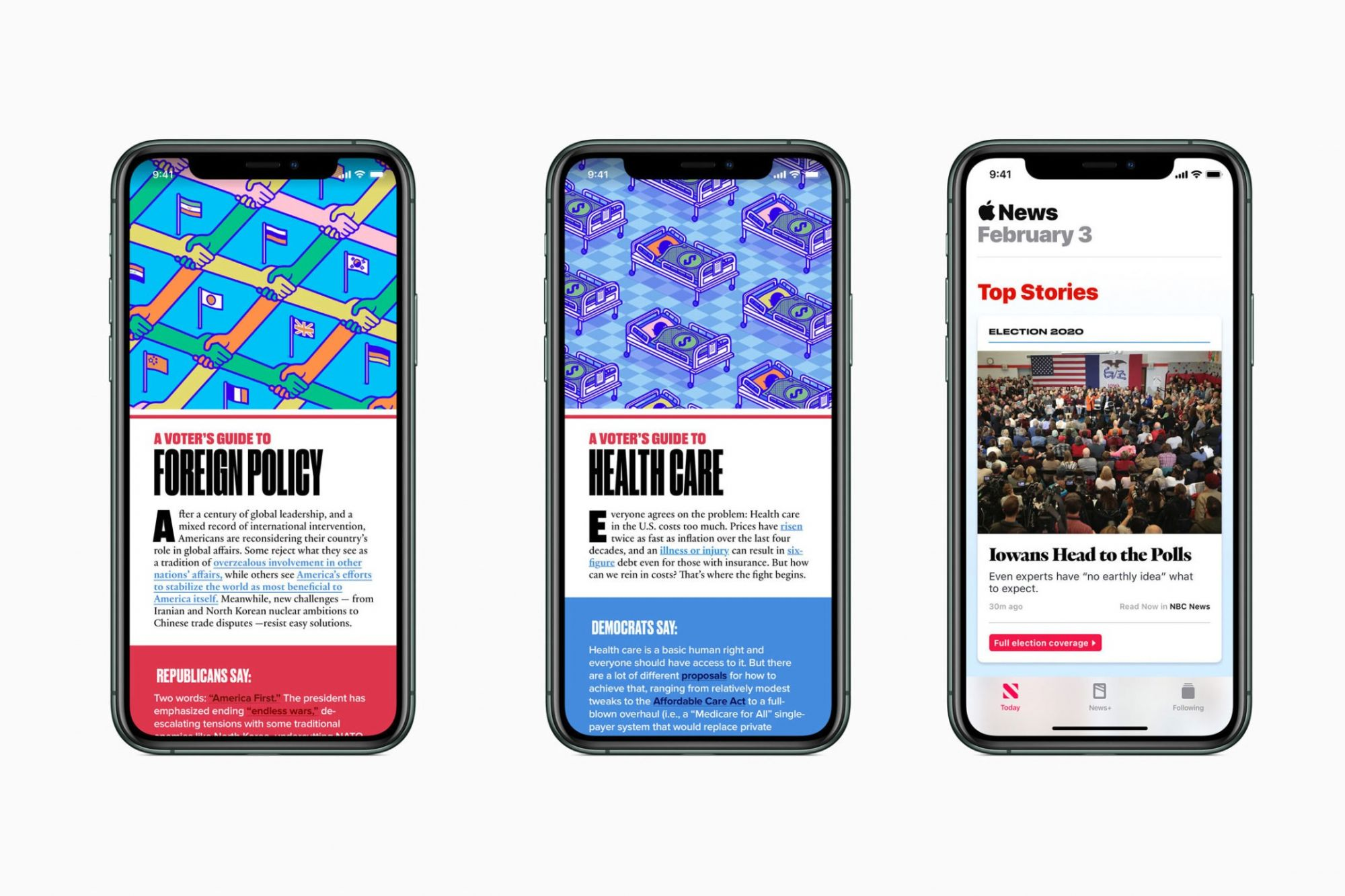 Apple News' 2020 Presidential Election Coverage Includes Livestreams