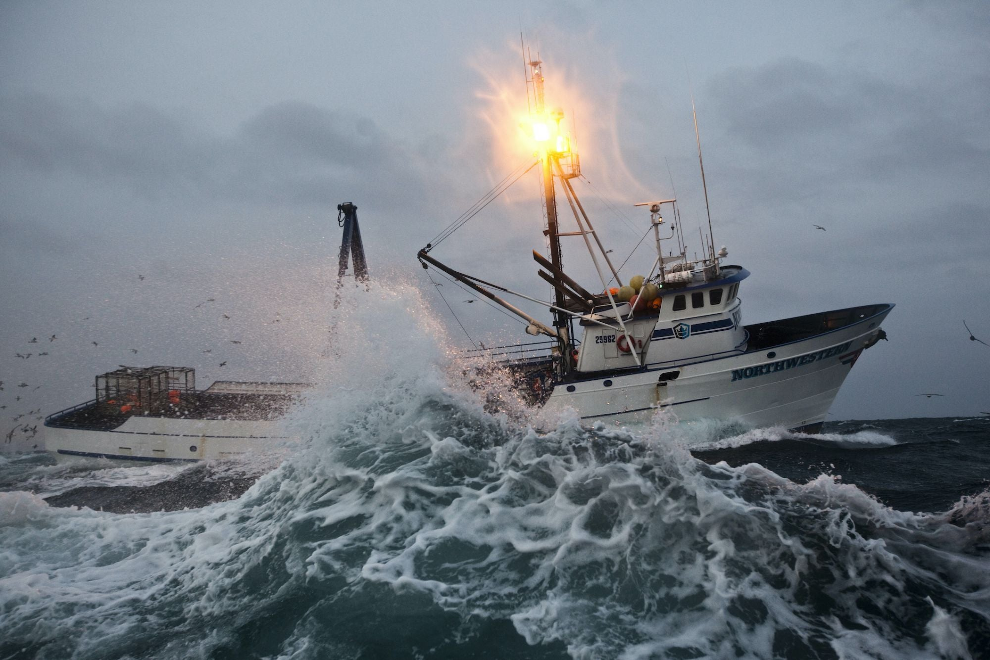 'Deadliest Catch' Captains Explain Working and Living in Pure Chaos