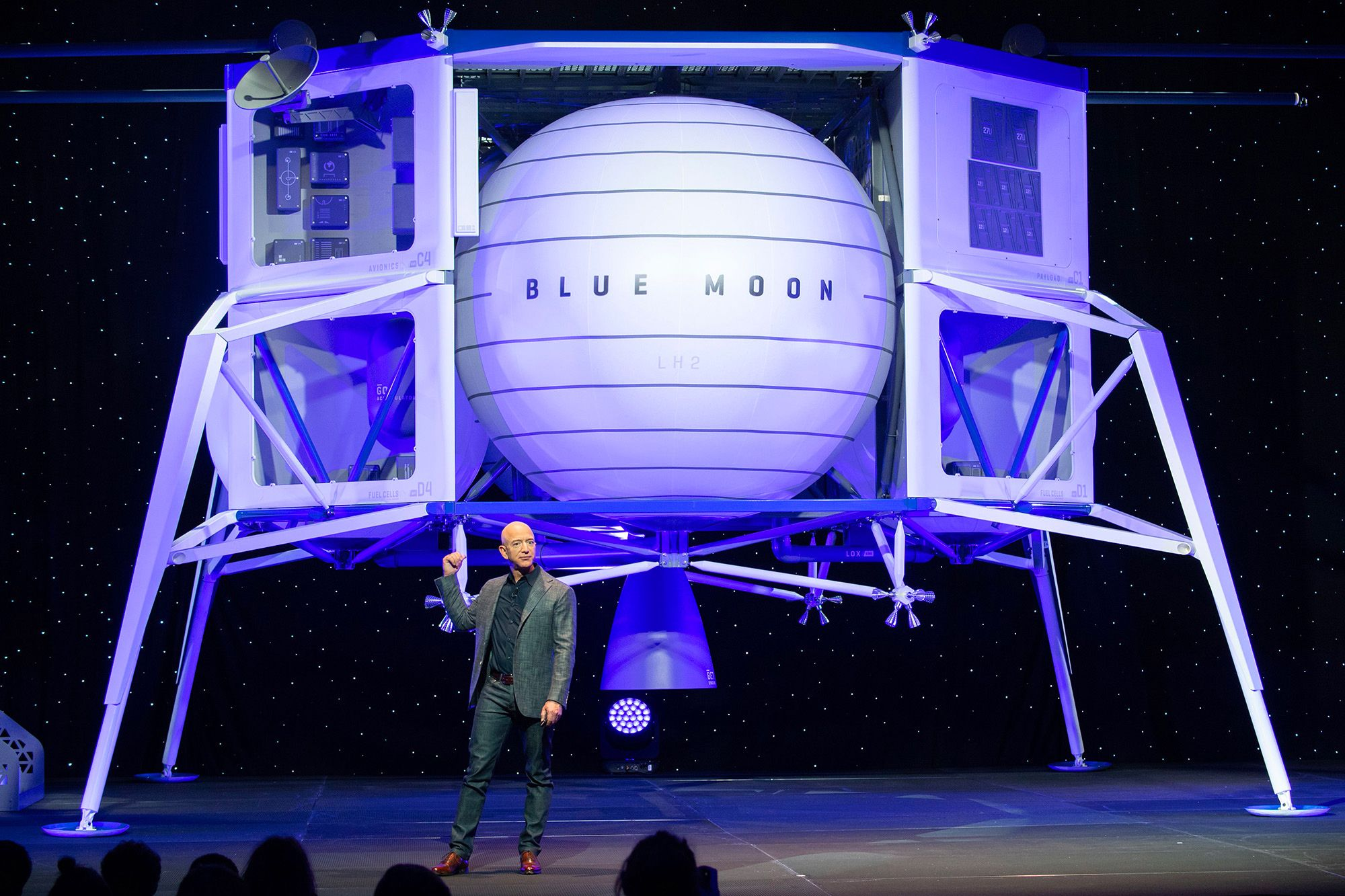 Blue Origin and SpaceX Win Contracts to Develop NASA's Moon Spacecraft