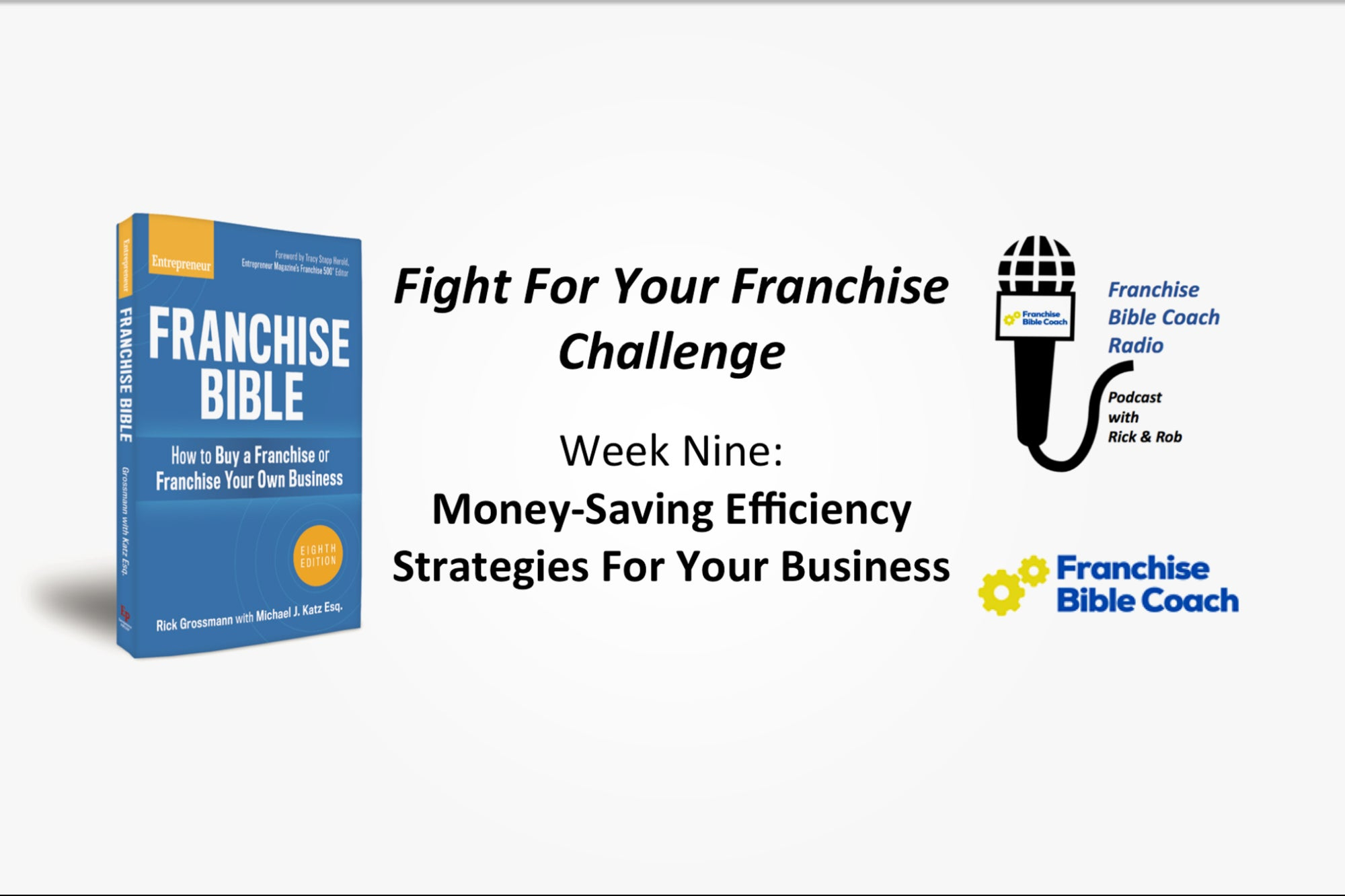 Fight for Your Franchise Challenge, Week 9: Money-Saving Efficiency Strategies