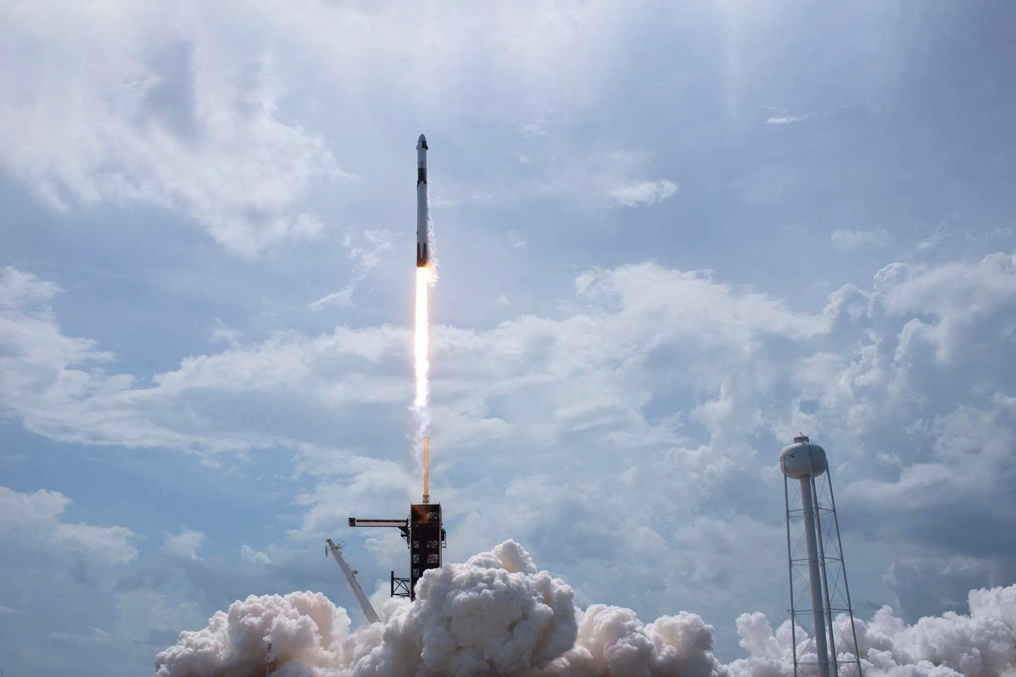 NASA Astronauts Successfully Dock SpaceX Crew Dragon at ISS