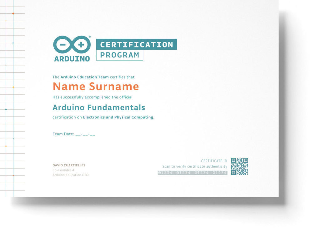 The first-ever Arduino certification is now available | FutureLab3D