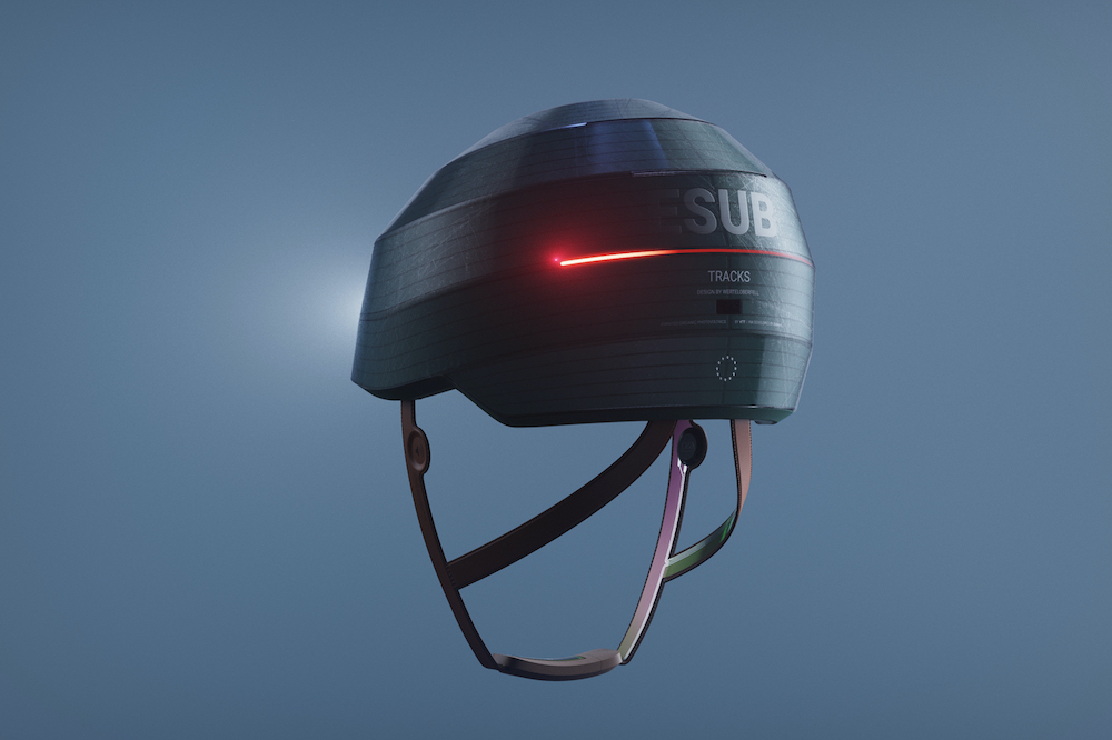 ESUB Tracks Smart Helmet 01 - Electrogeek