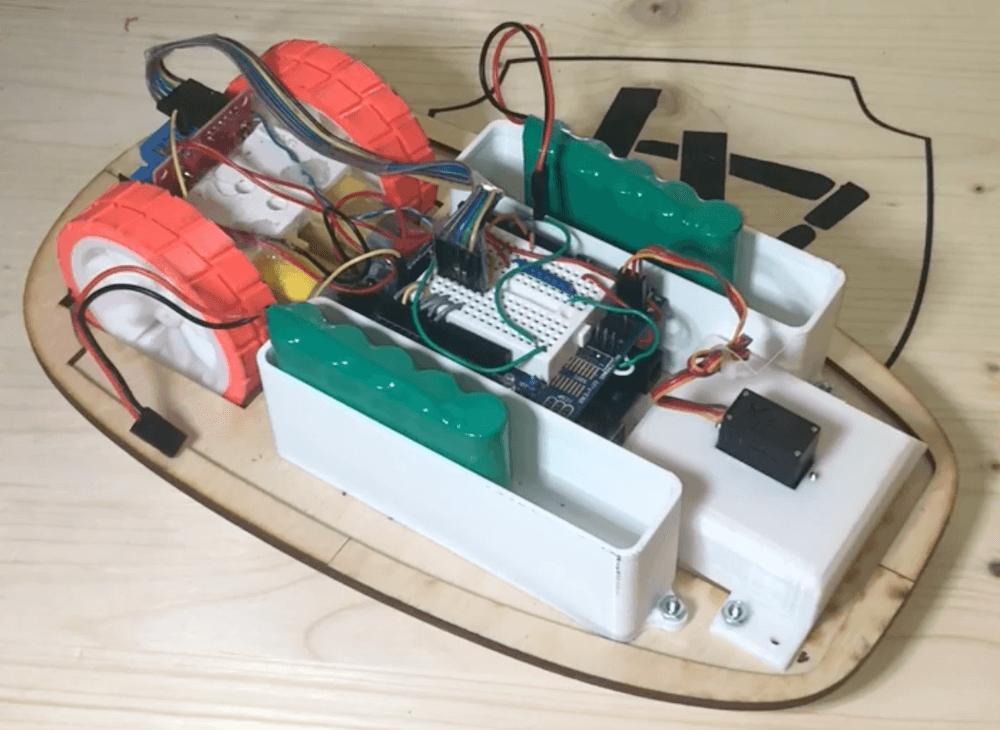 RCCar1 - Electrogeek