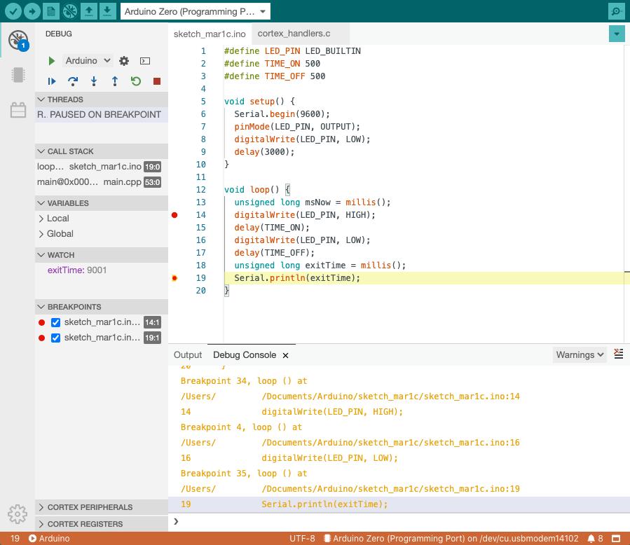 IDE debug no username - Electrogeek