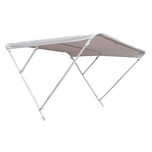 Capota Bimini Kit 2 Arcos Aluminio Blanca 150 x 170 cm para Embarcación