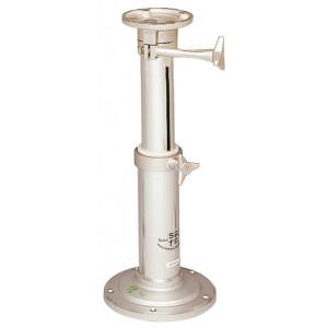 Pedestal en aluminio SAFE para Sillones. Giratorio y teléscopico 450-680 mm
