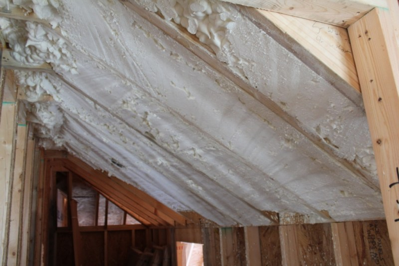 Vaulted ceiling construction for Barrel roof trusses