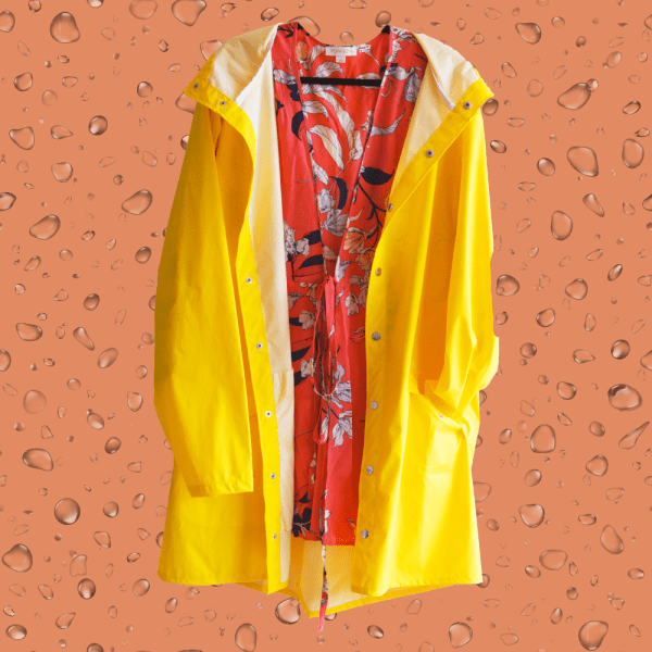 3 Ways to Make a Raincoat Look Chic