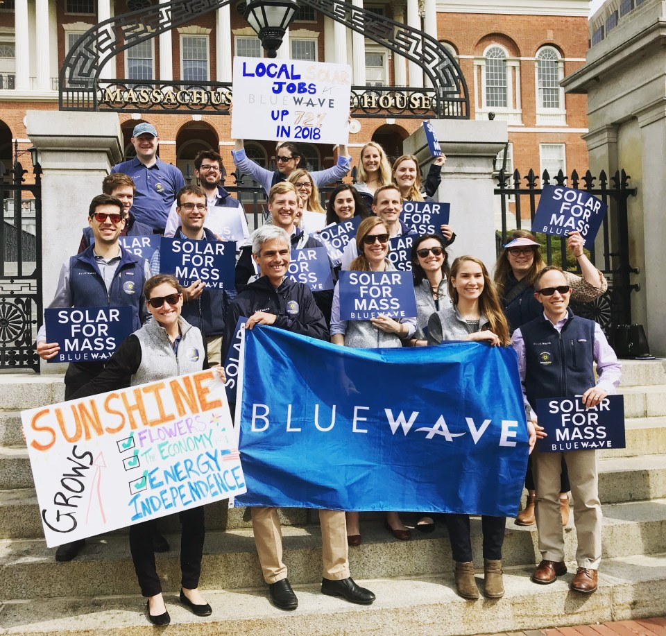Laura Adelman Blue Wave