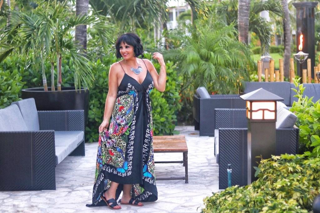 maxi dress vacation style